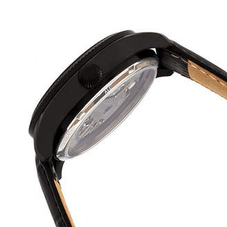 Heritor Unisex Black Strap Watch-Herhr7306