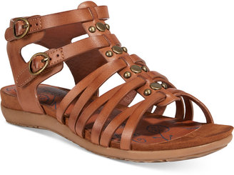 Bare Traps Robbi Gladiator Sandals $59 thestylecure.com