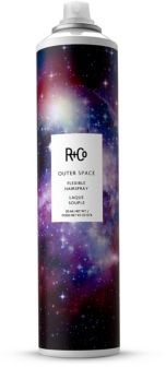 R+Co OUTER SPACE Flexible Hairspray/9.5 oz. $29 thestylecure.com
