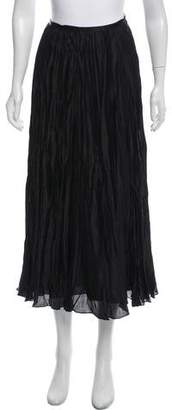 Ralph Lauren Accordion-Pleated Maxi Skirt