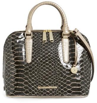 Brahmin Matsue Vivian Leather Satchel - Brown $415 thestylecure.com
