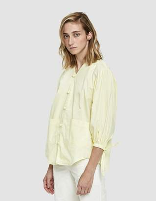 House Of Sunny Front Button Blouse