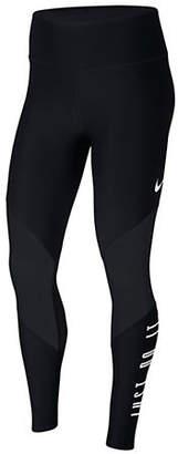 Nike Graphic Mesh Training Tights