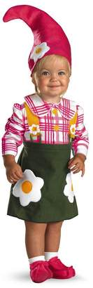 Disguise Unisex-Baby - Flower Garden Gnome Toddler Costume