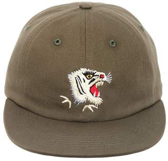 MHI Tiger Embroidered Canvas Baseball Hat