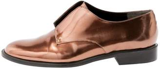 Robert Clergerie Metallic Leather Flats