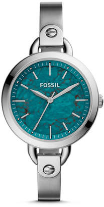 Fossil Classic Minute Three-Hand Stainless Steel Watch