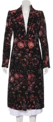 Smythe Long Floral Coat