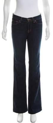 J Brand Mid-Rise Jeans