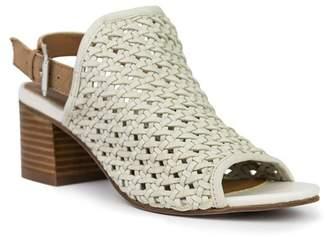 Crevo Zowie Woven Leather Sandal