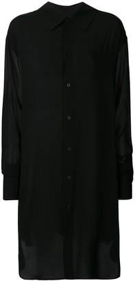 Ann Demeulemeester sheer oversized shirt