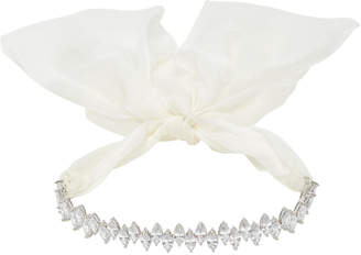 Fallon Monarch Jagged Edge Tuxedo Bow Choker