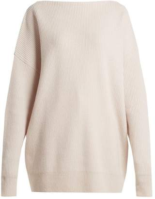 Tomas Maier Ribbed Cashmere Sweater - Womens - Ivory