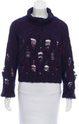 Rachel Comey Distressed Turtleneck Sweater