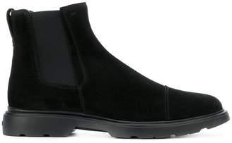 Hogan ankle length boots