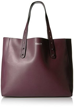 Kenneth Cole Reaction Heavy Metal Tote Bag $99 thestylecure.com