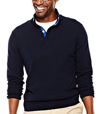 JCPenney jcpTM Fine Gauge Pullover Sweater