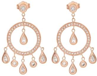 Jacquie Aiche Diamond & rose-gold earrings
