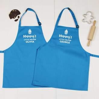 Lovetree Design Mummy's Little Helper Personalised Apron Set