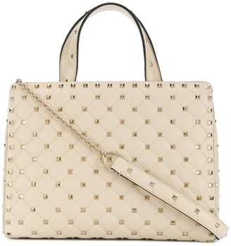 Valentino quilted Rockstud tote