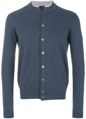 Dell'oglio button fastening cardigan