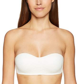 Mae Women's All Over Lace Padded Bandeau Bralette (for A-C Cups)