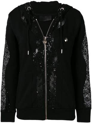 Philipp Plein Remember Me zipped hoodie