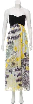 Diane von Furstenberg Silk Asti Silver Met Dot Dress w/ Tags