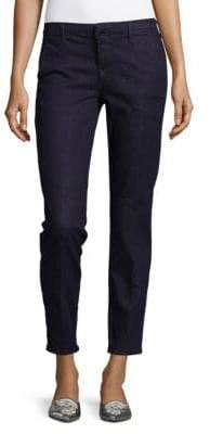 J Brand Cleo Mid-Rise Cropped Trouser