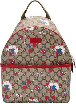 Children's GG ducks backpack $860 thestylecure.com