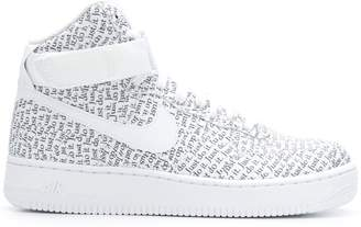 Nike Force 1 hi-top sneakers