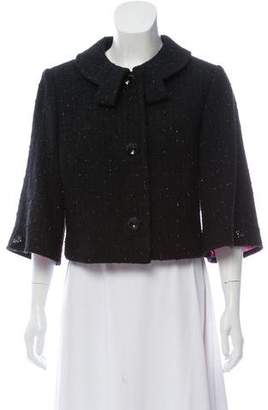 Milly Cropped Wool Jacket