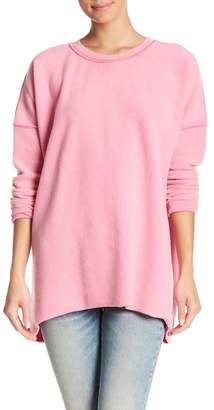 Free People Washed Ashore Crew Neck Pullover