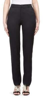 Lanvin Striped Wool Pants