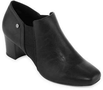 East Fifth east 5th Womens Redmond Dress Block Heel Slip-on Boots