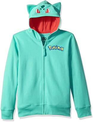 Pokemon Big Boys Bulbasaur Costume Hoodie