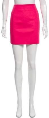 Cédric Charlier Wool Mini Skirt