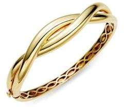 Roberto Coin 18K Yellow Gold Knot Bangle Bracelet