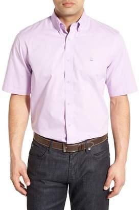 Nordstrom Traditional Fit Short Sleeve Sport Shirt