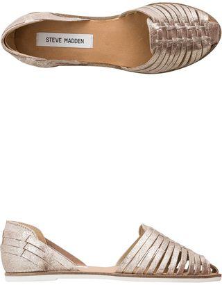 Steve Madden Hillarie Huarache Slip Ons $59.95 thestylecure.com