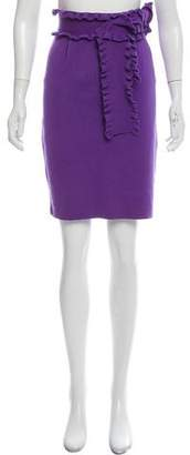 RED Valentino Knit Knee-Length Skirt