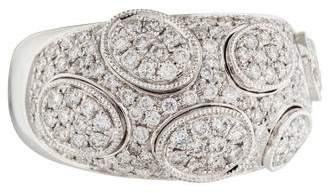 Ring 18K Domed Diamond