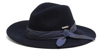 Vince Camuto Wool Tie Panama Hat