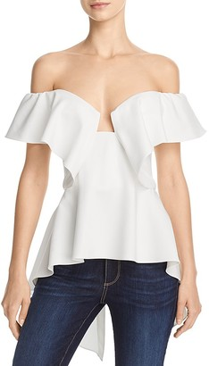 Do and Be Off-the-Shoulder Top - 100% Exclusive $78 thestylecure.com