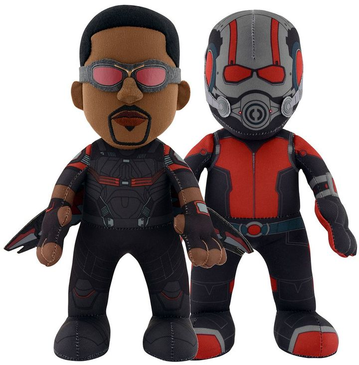 Bleacher creatures Marvel Ant-Man and The Falcon 10-in. Plush Dynamic Duo by Bleacher Creatures