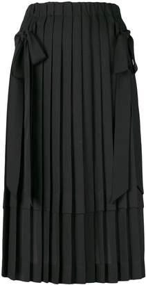 Simone Rocha pleated bow skirt