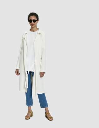Farrow Mirage Belted Linen Coat