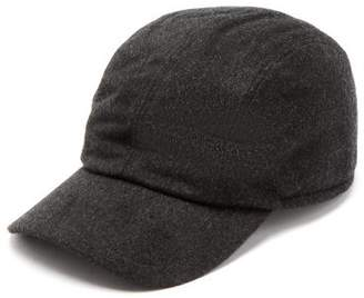 Giorgio Armani Cashmere Baseball Cap - Mens - Grey