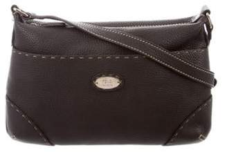 Fendi Leather Crossbody Bag silver Leather Crossbody Bag
