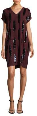 Nic+Zoe Sequin Shift Dress